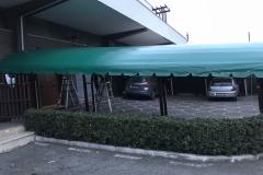 TUNNEL  CON  TELI IN PVC - 1